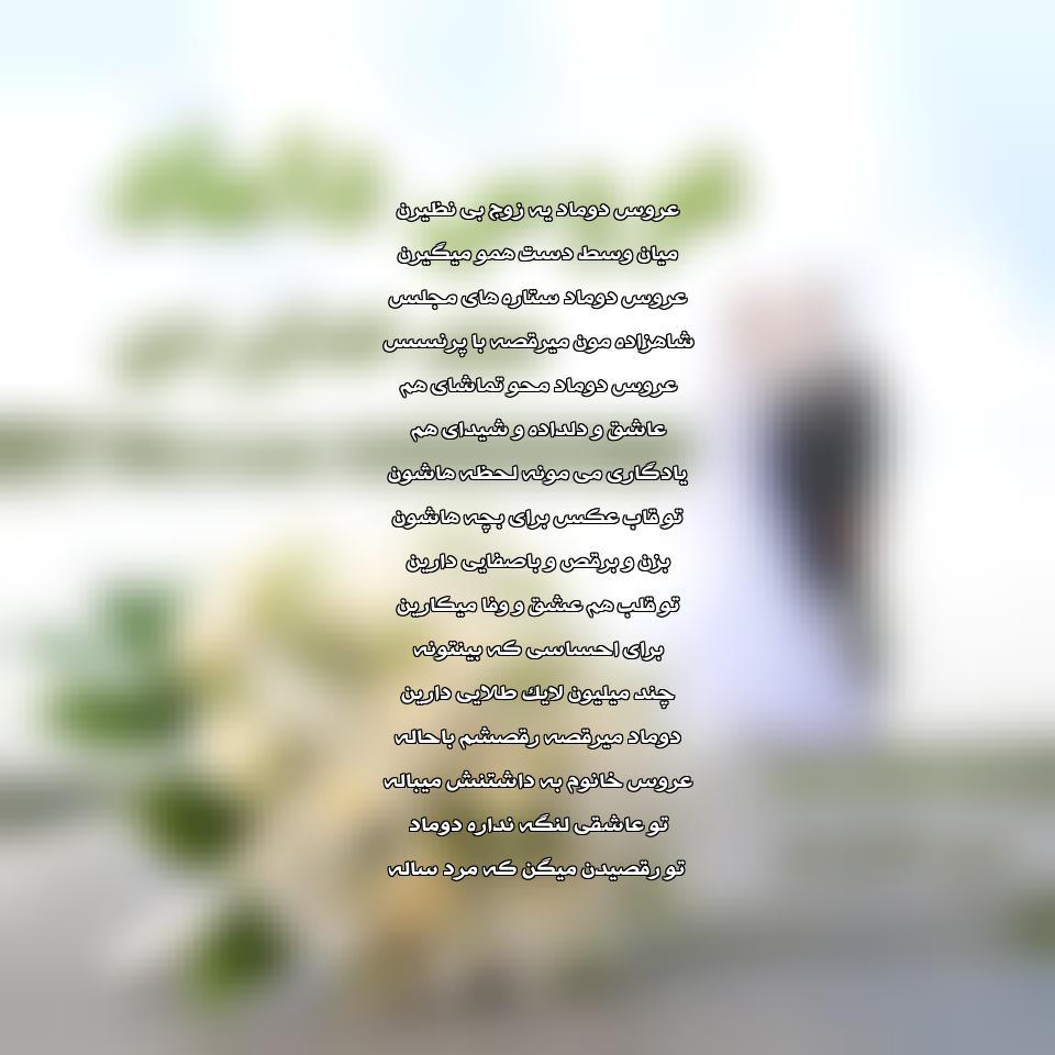 دانلود آهنگ جدید میثم خداوردی به نام عروس داماد