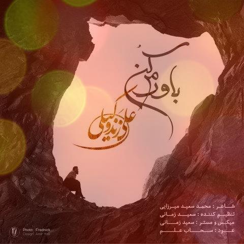 آهنگ باورم کن از علی زند وکیلی