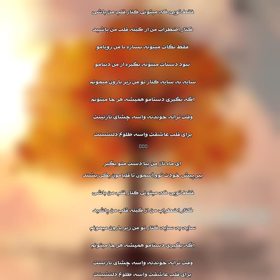 دانلود آهنگ جدید رضا ملک زاده به نام نارون