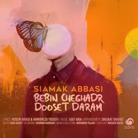 آهنگ ببین چقدر دوست دارم از سیامک عباسی