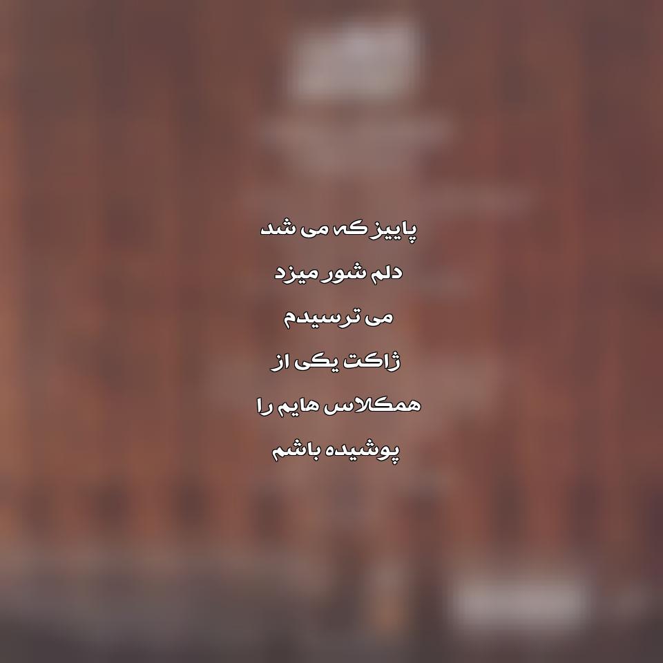 آهنگ جدید محسن چاوشی به نام ژاکت