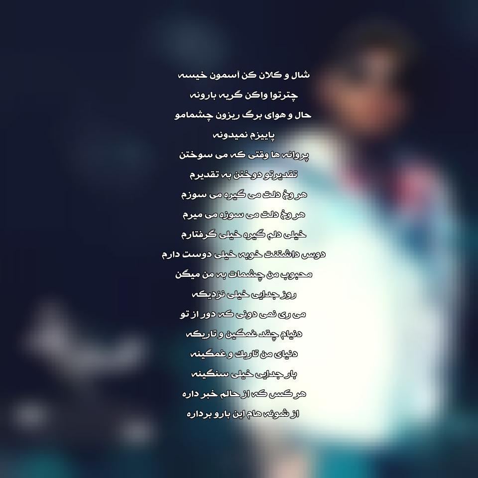 آهنگ جدید محسن چاوشی به نام پروانه ها