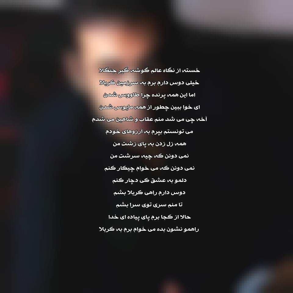 آهنگ جدید محسن چاوشی به نام راه کربلا