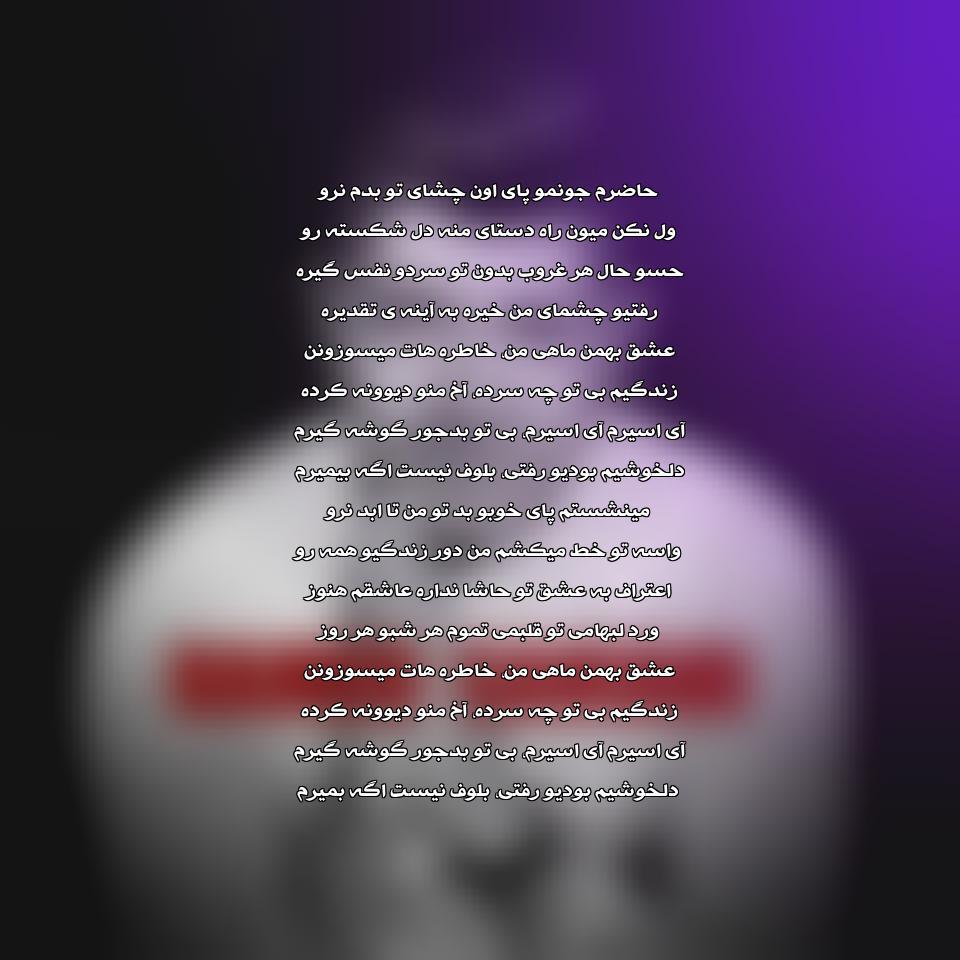 دانلود آهنگ جدید حامد سانیانی به نام عشق بهمن ماهی