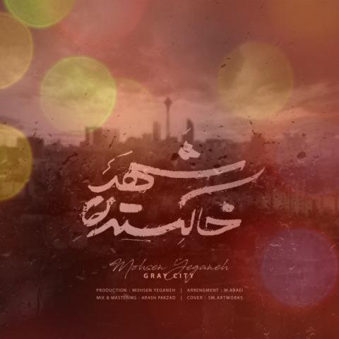 آهنگ شهر خاکستری از محسن یگانه | رقصای آخر برگ بی جون کندن از شاخه ی ناامیدی