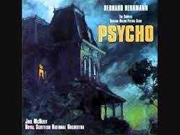 موسیقی متن فیلم روانی «1960»، برنارد هرمن؛