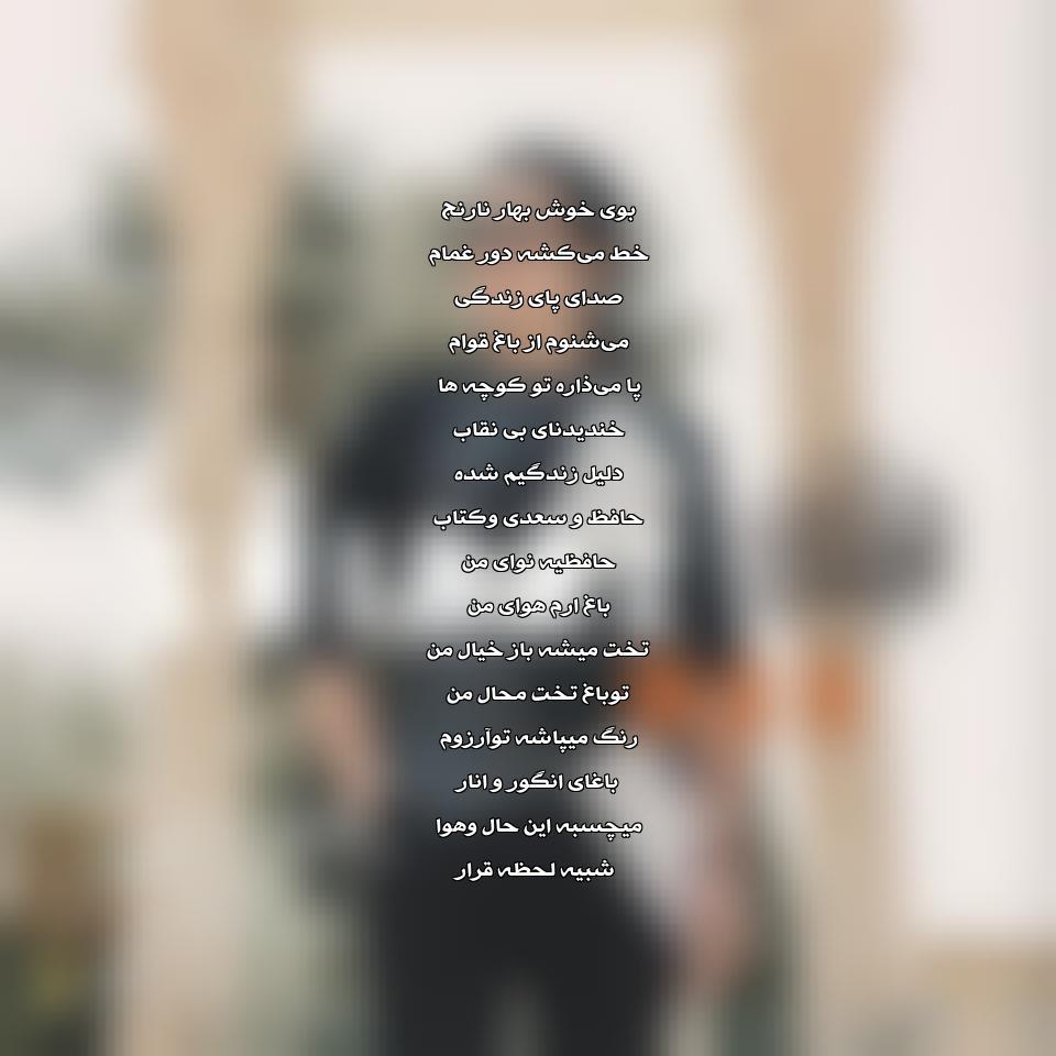 دانلود آهنگ جدید پژواک پاکزاد به نام شیراز من