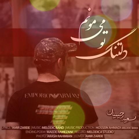 آهنگ دلتنگ تو می مونم از سعید رحیمیان