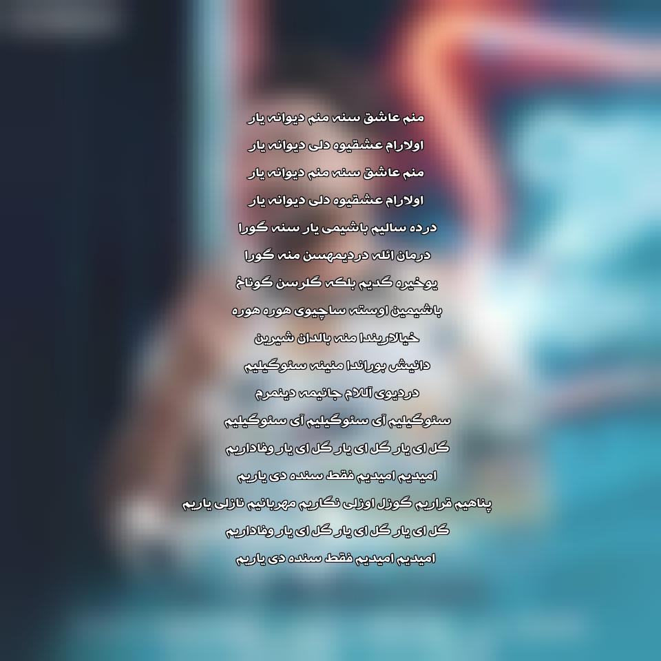 دانلود آهنگ جدید علی موسی زاد به نام سوگیلیم