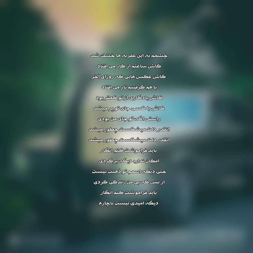 دانلود آهنگ جدید علی بابایی به نام باید فراموشت کنم